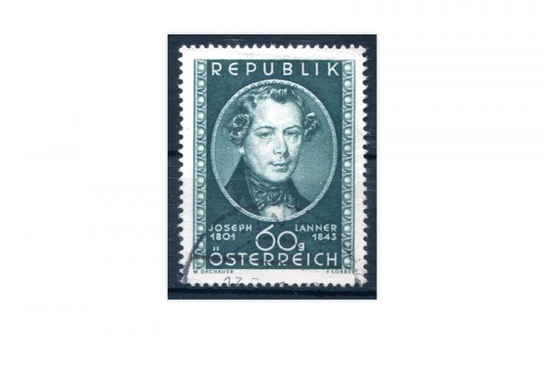 Österreich Mi.Nr. 964 Joseph Lanner 1951 gestempelt