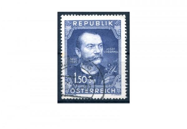 Österreich Mi.Nr. 970 Josef Schrammel gestempelt
