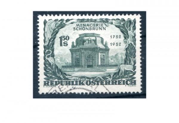 2. Republik Österreich 1952 Tiergarten von Schönbrunn Mi.Nr. 973 gest