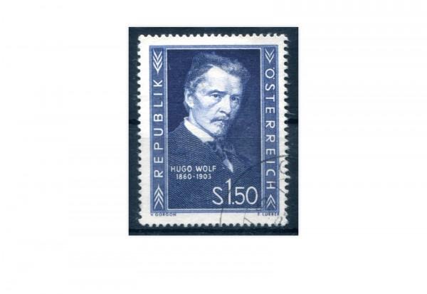 Österreich Einzelausgabe 1953 Hugo Wolf Michel Nr. 981 gestempelt