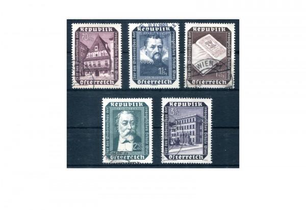 Österreich Mi.Nr. 989/93 gestempelt Wiederaufbau Schule