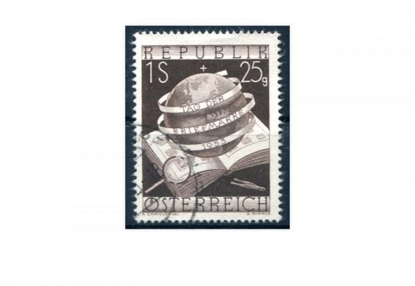 Österreich Tag der Briefmarke 1953 Mi.Nr. 995 gestempelt