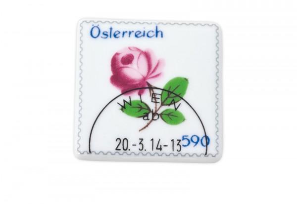 Österreich Augarten Porzellan-Briefmarke Mi.Nr. 3127 gestempelt