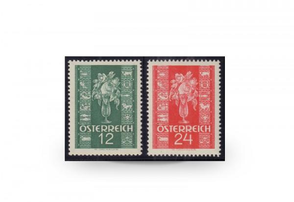 Briefmarken Österreich Michel-Nr. 658-659 gestempelt