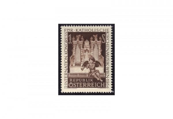 Österreich Einzelausgabe 1954 Internationaler Kongreß für katholische Kirchenmusik Michel Nr. 1008 g