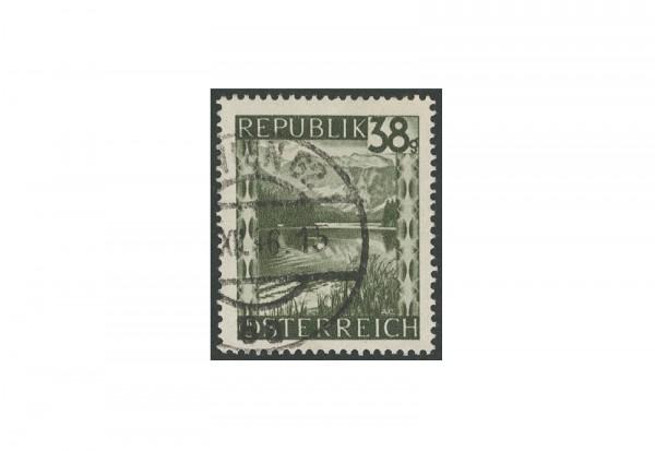 Briefmarke Österreich Landschaften 1947 Michel-Nr. 756 b gestempelt geprüft