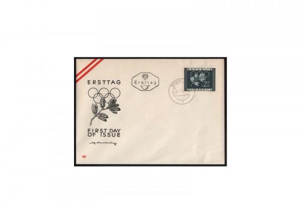 Österreich FDC Michel-Nr. 969 Olympische Spiele 1952 auf Ersttagsbrief