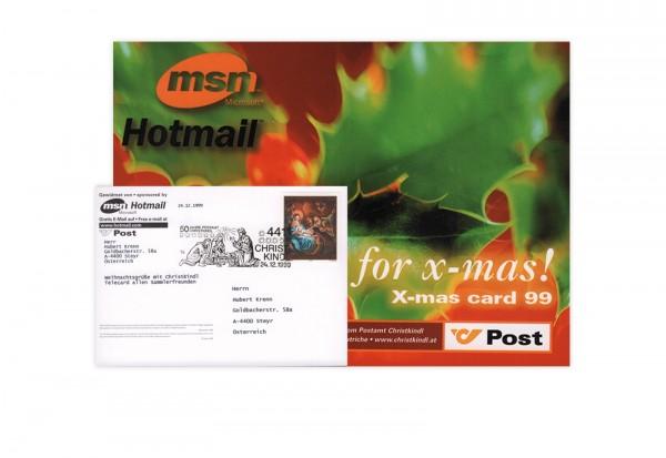 Österreich Internet-X-Mas-Card 1999/2000 (Motiv A)