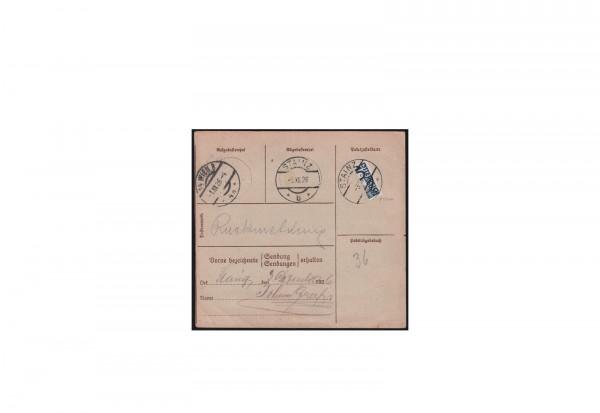 Österreich Michel-Nr. 139 H gestempelt EF sog. Stainzer Provisorium