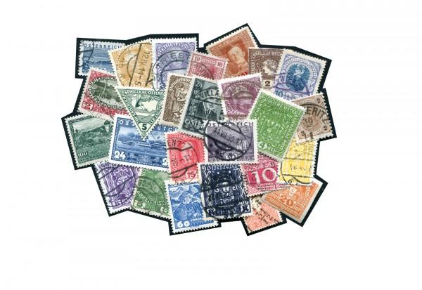 Österreich Sortiment bis 1938 postfrisch, ungebraucht und gestempelt