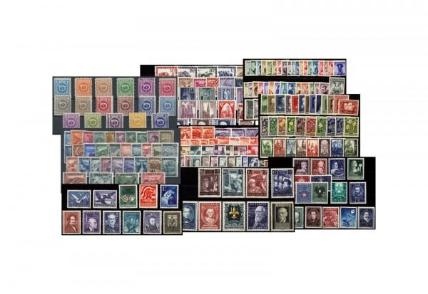 Österreich 2. Republik 1945-1954 Michel-Nr 738-1011 postfrisch