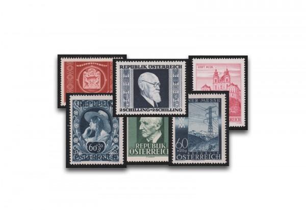 Lot Österreich Frühausgaben postfrisch der 50iger Jahre