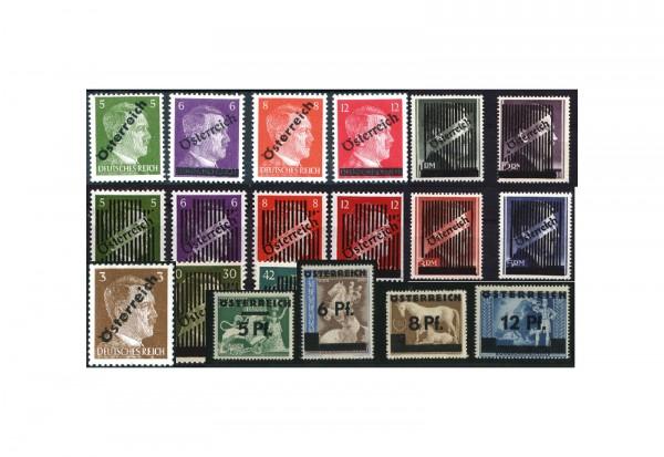 Österreich Michel-Nr. 660-673, IV, VA-VD Wiener Ausgaben 1945 komplett im Set postfrisch