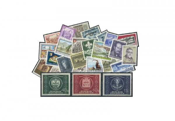 Briefmarken Österreich Premium-Lot im Set