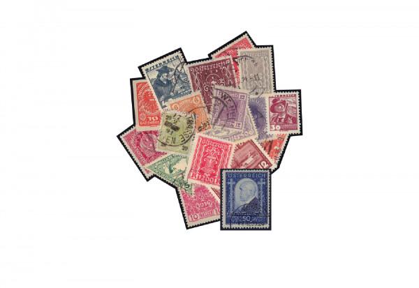 Briefmarken Sammlung Österreich inkl. Ignatz Seipel 1932 Michel-Nr. 544 gestempelt