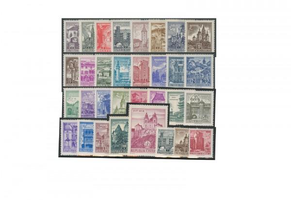 Briefmarken Österreich Bauten Kollektion 1957-1970 Michel-Nr. 1035-1324 postfrisch