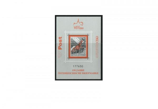 Österreich Block 13 ** 150 Jahre Briefmarke