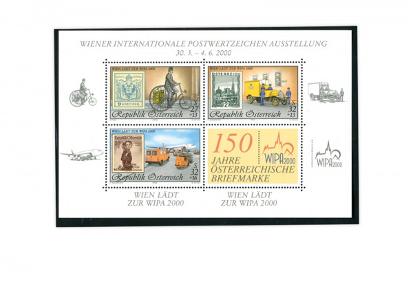 Österreich Block 14 ** Briefmarkenausstellung