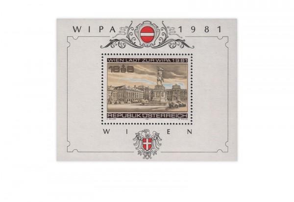 Österreich Block 5 gest. WIPA 1981