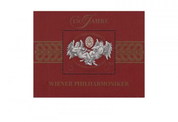 Österreich Block 11 gest. 150 Jahre Wiener Philharmonie