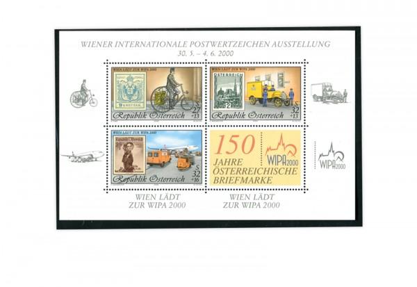 Österreich Block 14 gest. WIPA 2000 Wien