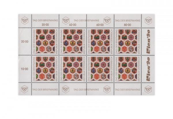 Österreich Kleinbogen Tag der Briefmarke Mi.Nr. 1990 gest.