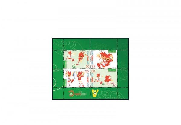 Österreich Block 38 postfrisch Fußball EM 2008 in Österreich und Schweiz