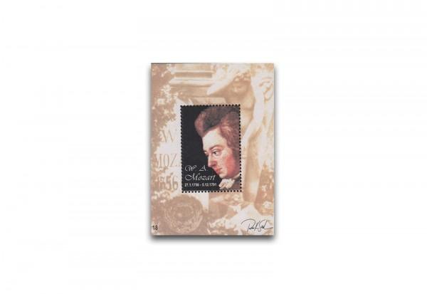 Österreich Kosel-Block 1991 Mozart