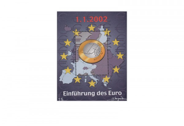Österreich Kosel-Block 2002 - Euro-Einführung