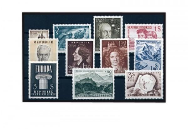 Österreich Jahrgang 1960 postfrisch