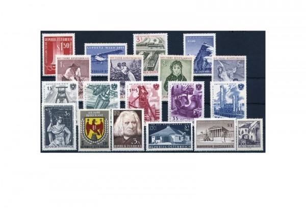 Österreich Jahrgang 1961 postfrisch