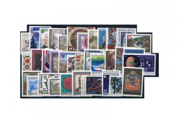 Briefmarken Österreich Jahrgang Michel-Nr. 1978-2012 1990 postfrisch