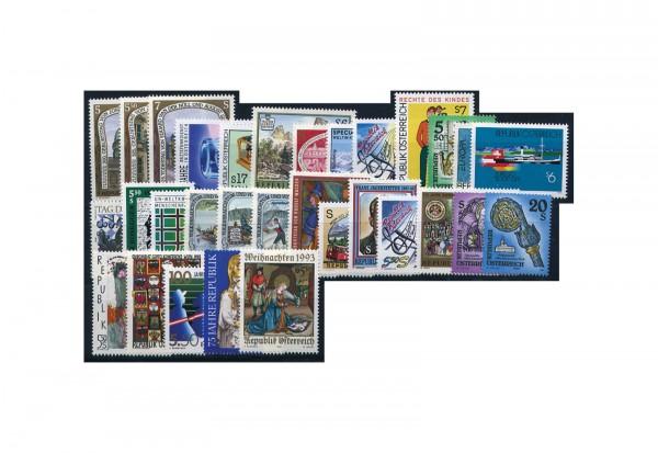 Briefmarken Österreich Jahrgang 1993 Michel-Nr. 2084-2114 postfrisch