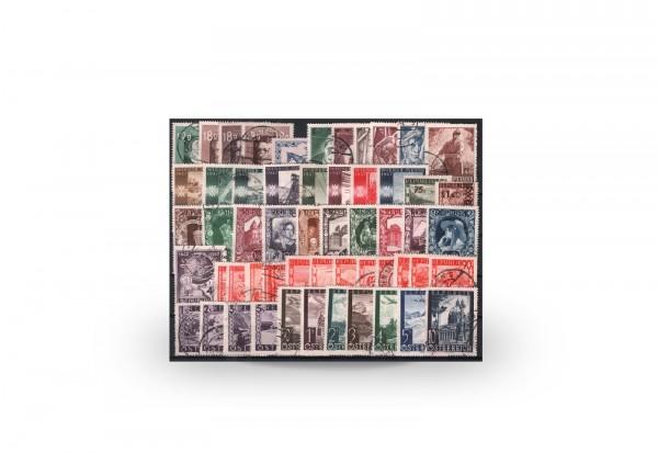 Österreich Mi.Nr. 801/853 Jahrgang 1947 gestempelt