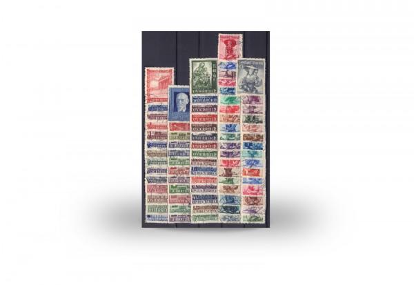 Österreich Mi.Nr. 854/928 Jahrgang 1948 gestempelt