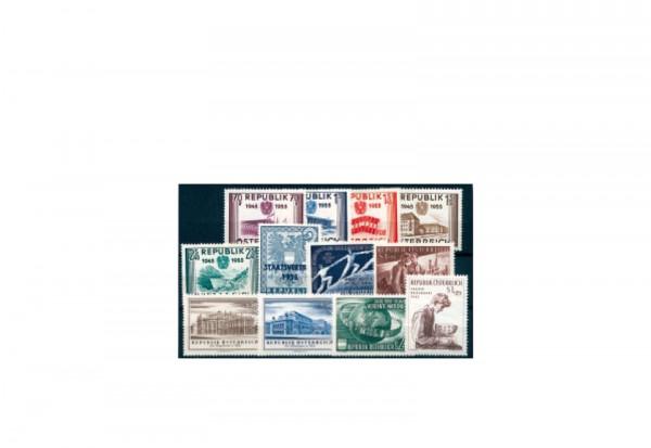 Österreich Jahrgang 1955 gestempelt