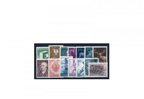 Briefmarken Österreich Jahrgang 1959 Michel-Nr.1059-1072 gestempelt