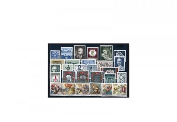 Briefmarken Österreich Jahrgang 1968 Michel-Nr. 1256-1283 gestempelt