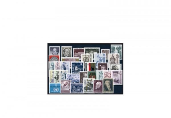 Briefmarken Österreich Jahrgang 1970 Michel-Nr. 1320-1352 gestempelt