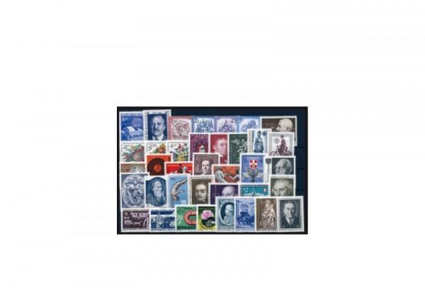 Briefmarken Österreich Jahrgang 1974 Michel-Nr. 1437-1473 gestempelt