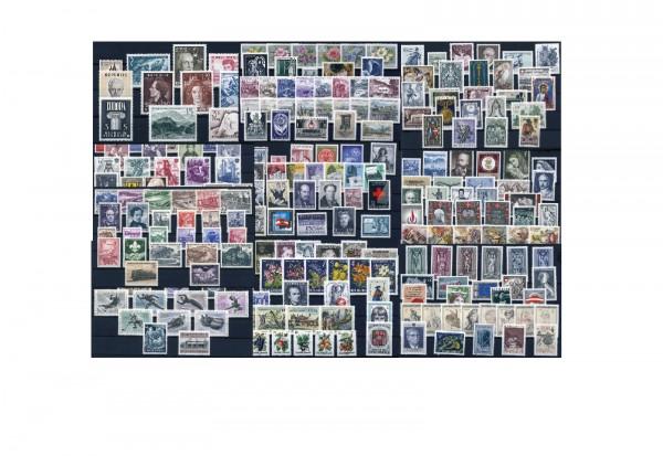 Österreich Jahrgänge 1960-1969 Michel Nr. 1073-1319 postfrisch