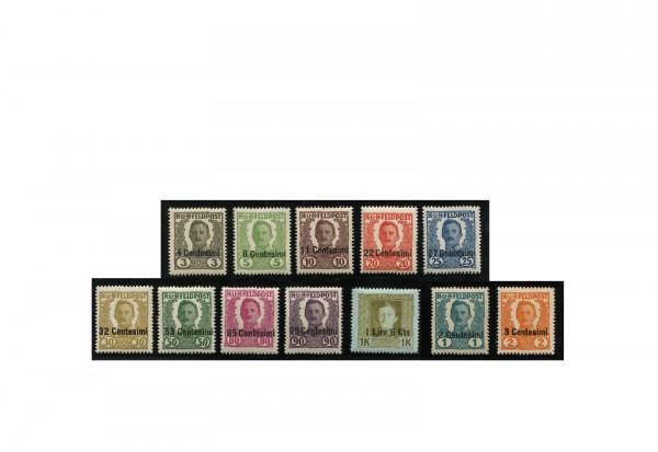 Briefmarken Österreich Italien Feldpostmarken 1919 Michel-Nr. I-XIV postfrisch