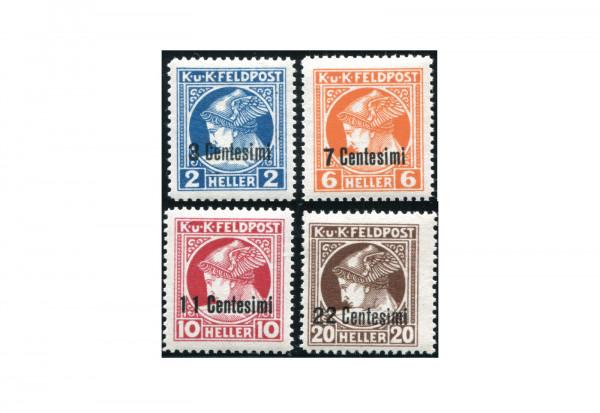 Österreich Feldpost Mi.Nr. 20-23 **