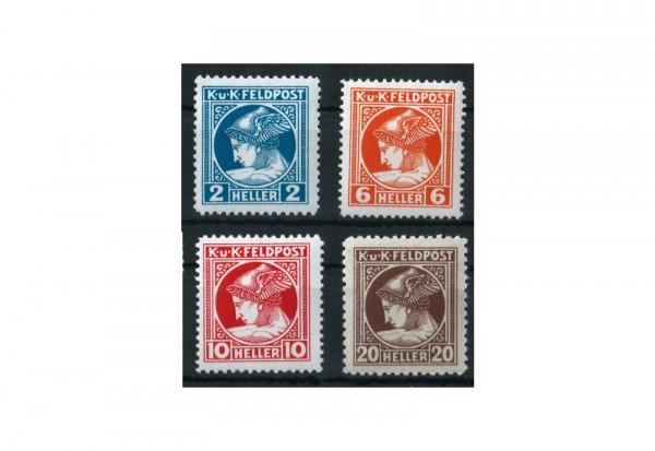 Österreich Feldpost Mi.Nr. 49-52 **