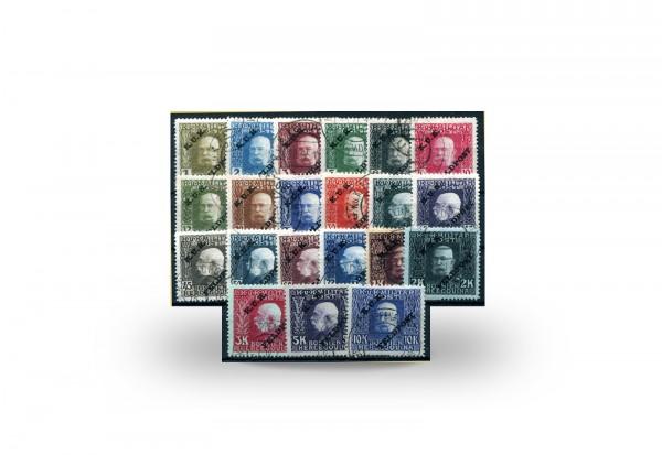 Briefmarke Österreich Ungarn Feldpost Franz Joseph 1915 Michel-Nr. 1/21 postfrisch