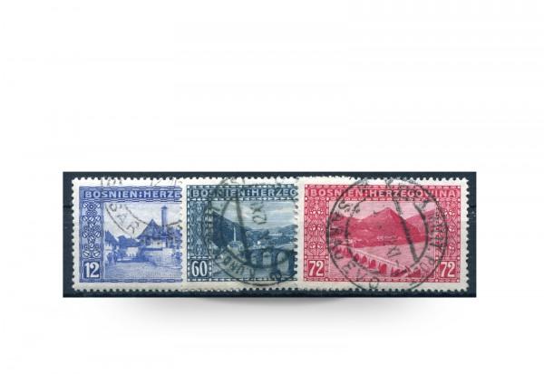 Briefmarke Österreich/Bosnien Herzegowina 1912 Michel-Nr. 61-63 postfrisch