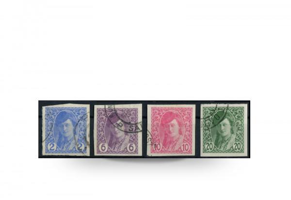 Briefmarke Österreich/Bosnien Herzegowina 1913 Michel-Nr. 85-88 postfrisch