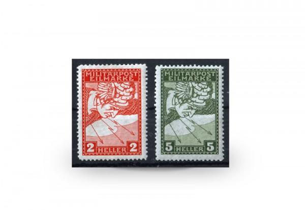 Briefmarke Österreich/Bosnien Herzegowina 1916 Michel-Nr. 117/118 postfrisch