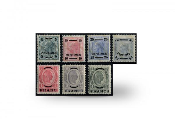 Briefmarken Österreich/Kreta Franz Joseph 1903/1904 Michel-Nr. 1/7 postfrisch