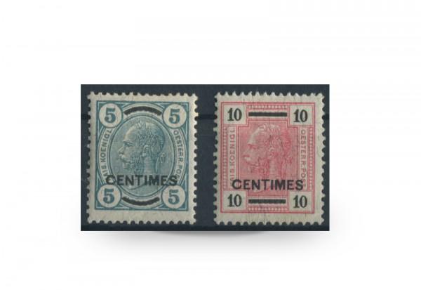 Briefmarken Österreich/Kreta Franz Joseph 1906 Michel-Nr. 12/3 postfrisch